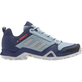 adidas TERREX AX3 Hiking Shoes Lightweight Women, tech indigo/grey two/signal coral